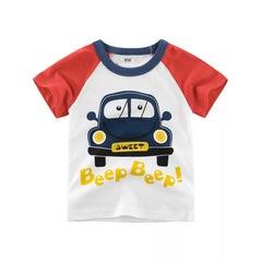 2019 new children clothing summer boy short-sleeved t-shirt cotton kids wear children clothing 1 90cm cotton