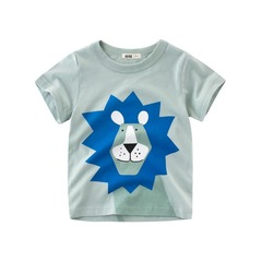 2019 summer childrenclothing new style short-sleeved T-shirt for boys half-sleeved baby sweatshirt 1 90cm cotton