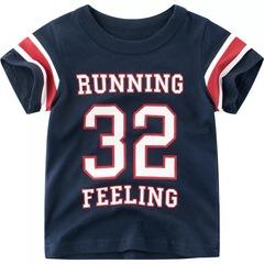 2019 Summer Children T-Shirt Short Sleeve Baby boy Half Sleeve Tops clothing 1 90cm cotton