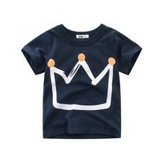 2019 summer new style boy short-sleeved t-shirt children clothing good quality kid clothing 1 90cm cotton