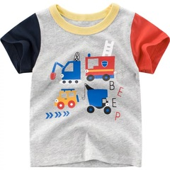 2019 summer children's clothing new children's t-shirt short-sleeved baby clothes on ins hot 1 90cm cotton