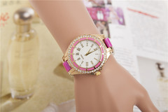 Women Casual Acrylic Quartz Watch Women Fashion Set Watch 1 one size