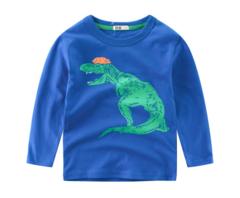 Children clothing new 2019 boy T-shirt dinosaur baby shirt children's shirt 1 90cm