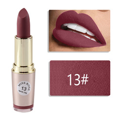 Hotsale 6Colors Matte Lipstick Waterproof Moisturizing Long-lasting Non-Stick Cup Does LipStick #13