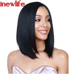 New Fashion Synthetic Wigs Hair Wigs Women Wigs Hair Straight 14inch black hair black 14inch