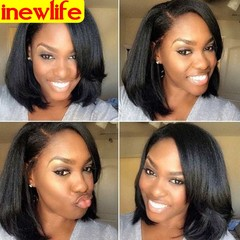 Synthetic Wigs New Fashion Black Hair Wigs Women Wigs Hair Straight 14inch black 14inch