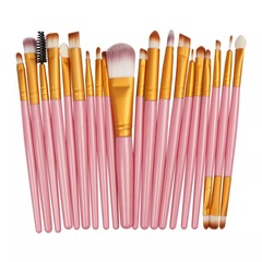 20pcs makeup brush beauty makeup kit eye shadow brush eyebrow brush face brush 7