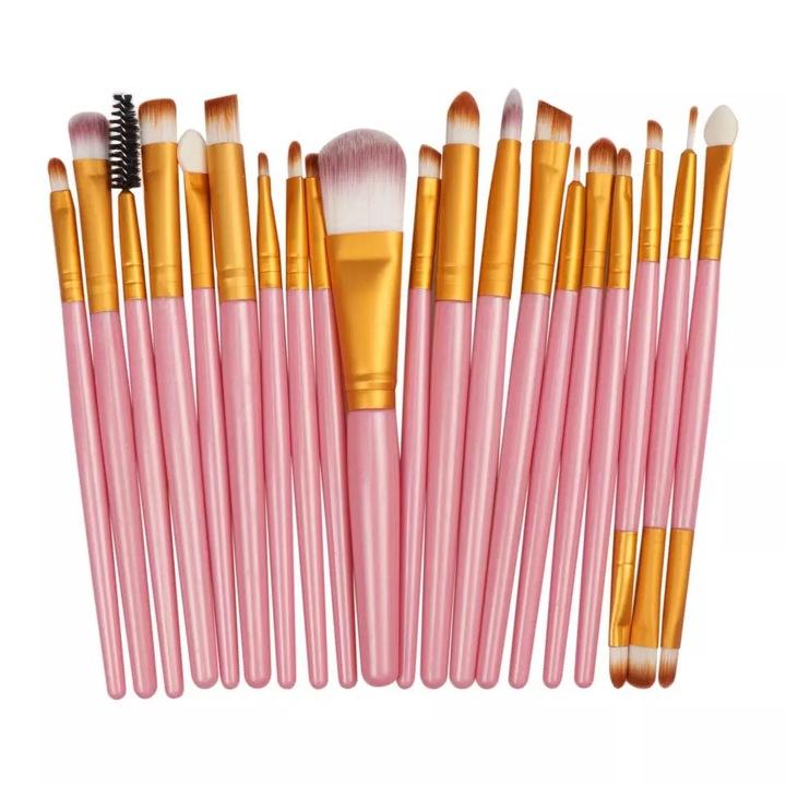 20pcs makeup brush beauty makeup kit eye shadow brush eyebrow brush face brush 7