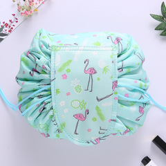Women drawstring travel cosmetic bag Makeup Bag waterproof Cosmetic bag large Storage Pouch wash bag 1 one size