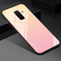 New arrival Tempered Glass Case For Samsung GalaxyS8 A30 70 A7 J6 2018 Note 8 9 M30 M20 Aurora Cover c1 S10E