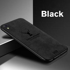 Soft TPU Cloth Phone Case for OPPO A57 A59 A73 A77 F3 F5 A79 A7X K1 A83 A1 A3 A5 A7 F7 A9 F9  Cover black for R17
