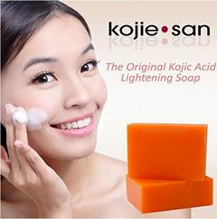 Kojie San Soap Handmade Whitening Soap Skin Lightening Soap KOJIC ACID SOAP Deep Cleaning face soap kojic acid soap 65g*2PCS