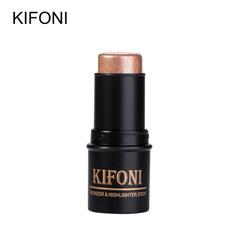 Bronzer Highlighter Stick 3D Contour Makeup Concealer Pen Face Waterproof Glow Brighten Stick #1