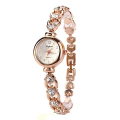 New arrival Fashion Elegance Bracelet watches Wristwatches OL style Classic Casual Quartz Watches GOLD one size