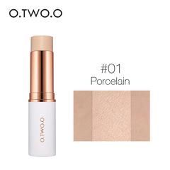 Concealer Stick Foundation Makeup Full Cover Contour Face Concealer Cream Primer Moisturizer Hide #1