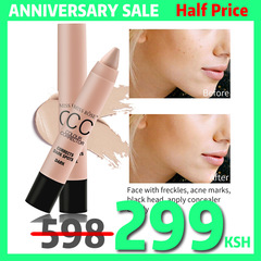 Natural CC Moisturizing Foundation Makeup Waterproof Whitening Concealer Stick Brighten Skin Color 01 CORRECTS DARK SPOTS DARK#
