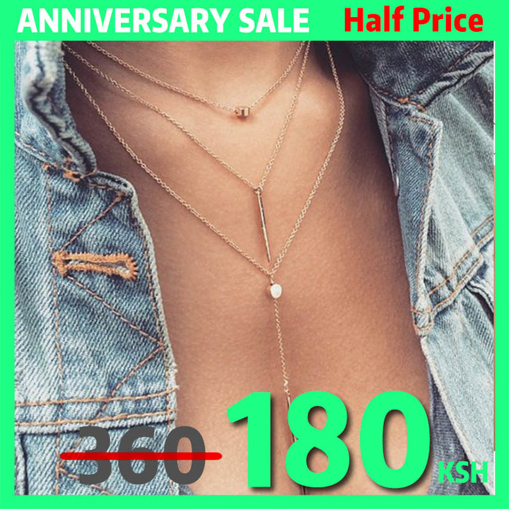 New Fashion woman necklaces sexy crystal necklace Women's necklace fashion jewelryClavicular chain gold one size