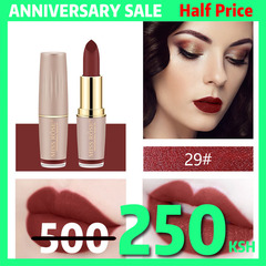 4Colors Matte Lipstick Long Lasting Lip Cosmetic Lip Waterproof Makeup Lip Gloss Maquiagem No Fade #29
