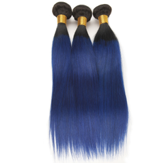 Wigs for Women Near Me∣T1B Blue Hair Piece∣Chinese Factory Direct Sale T1B Blue 10