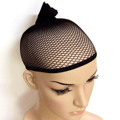 2019 Popular Black Net for Wigs as the photo show one size