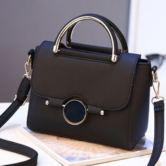 HGLD Women handbags new stereo fashion wild shoulder messenger bag Temperament handbag black 43*30*10*27