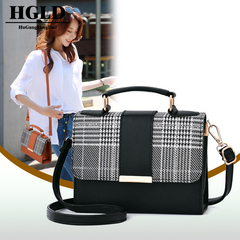 HGLD new women handbags simple women diagonal cross handbag portable diagonal package Blake 20*15*7.5