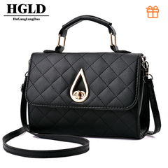HGLD  fashion wild women handbag,women bag, women shoulder messenger bag, small square bag blake 20*15*9(cm)