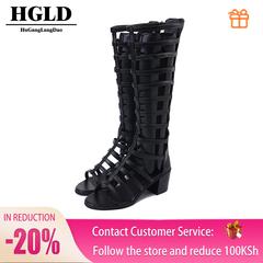 HGLD Women's shoes, women high heels, gladiator sandals,bundled high heels, sexy shoes black 35