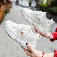 HGLD woman shoes autumn summer winter court sport running Walk canvas athletic Leisure sneakers high white breathable 34