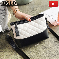 HGLD popular Women bag shopping one shoulder party travel makeup Dinner phone wallet woman bag white 23*21*16cm