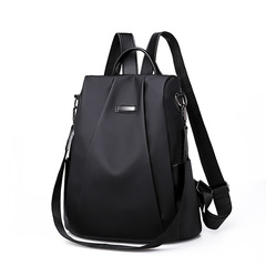 HGLD women backpack simple fashion youth student travel handbag waterproof high quality fabric Blake. one size