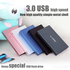 320GB 500GB 1T 3USB Premium Mobile Hard Drive for Kenya Black 320GB/Special price