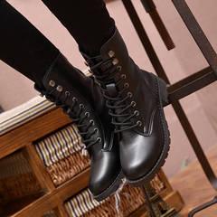 black boots rainy season shoes high quality PU large size shoes leisure walking, woman blank 35