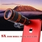 Universal 8X Zoom Mobile Phone Lens for Smartphones tablet Telephoto Clip Telescope Camera black