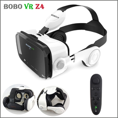 High-grade Original BOBOVR Z4 3D Virtual Reality VR Glasses Headset Stereo Box for 4-6' Mobile Phone black no handle One size
