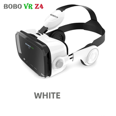 High-grade Original BOBOVR Z4 3D Virtual Reality VR Glasses Headset Stereo Box for 4-6' Mobile Phone white no handle One size