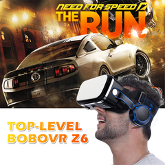 2019 Top-level Bobovr Z6 Helmet 3D VR Glasses Virtual Reality Headset For  SmartPhone Goggles white no handle blu-ray lenses
