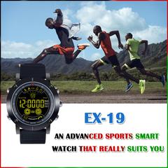 Smart Watch EX19 swim Waterproof Call SMS Alert Sport Pedometer Smartwatch Stopwatch Fitness Tracker black one size