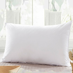 1 Piece Soft White Bed Pillow - White 48cm*74cm