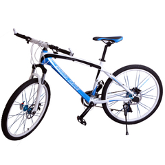 DYNABike Mountain Bike Model DY528 Bicycle White