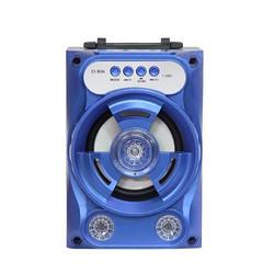 Portable Mini Wireless Bluetooth Speaker 3.5mm Port FM Reception TF Soundbox Good quality blue 3w bluetooth speaker