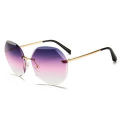 2019 new sunglasses women's Korean version of the trend of sunglasses fashion UV glasses p1 9901