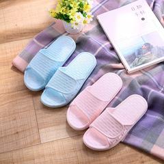 Women's Slippers 2019 Women's Slippers Non-slip Slippers Hotel Bathroom Bathing Sandals pink 36/37