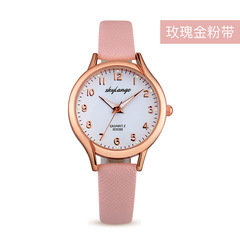 Cross-border explosion fashion watch female luminous female watch ladies quartz watch pink one size