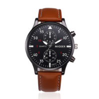 Men's Watch New ORLANDO Fashion Quartz Watch Men's Silver Plated Stainless Steel Watch white one size 3
