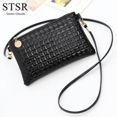 STSR Fashion women's Messenger bag shoulder bag handbag ladies wallet cute wallet black one size