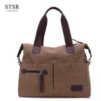 STSR Leather Clutch Bag Female Handbag Luxury Beach Tote Ms. Fringe Shoulder Bag Tote gray one size 3