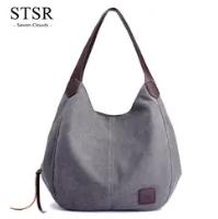 STSR Leather Clutch Bag Female Handbag Luxury Beach Tote Ms. Fringe Shoulder Bag Tote gray one size 5