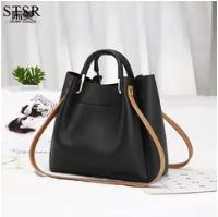 STSR Leather Clutch Bag Female Handbag Luxury Beach Tote Ms. Fringe Shoulder Bag Tote gray one size 8