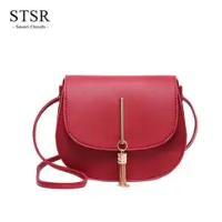 STSR Leather Clutch Bag Female Handbag Luxury Beach Tote Ms. Fringe Shoulder Bag Tote gray one size 9